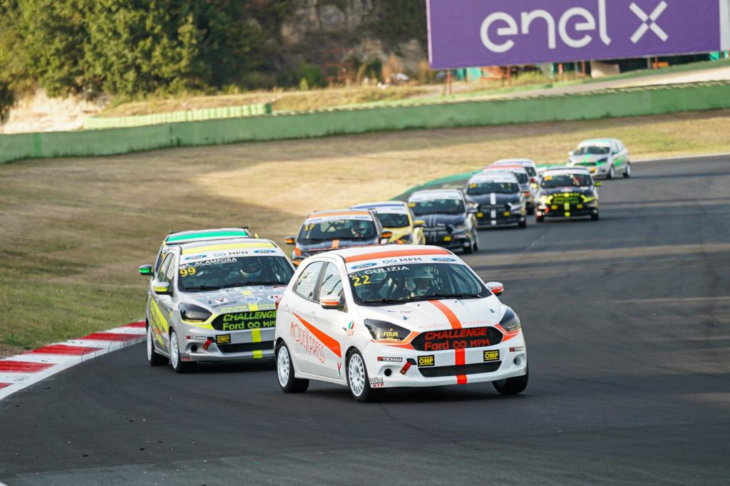 Challenge Ford MPM a Vallelunga